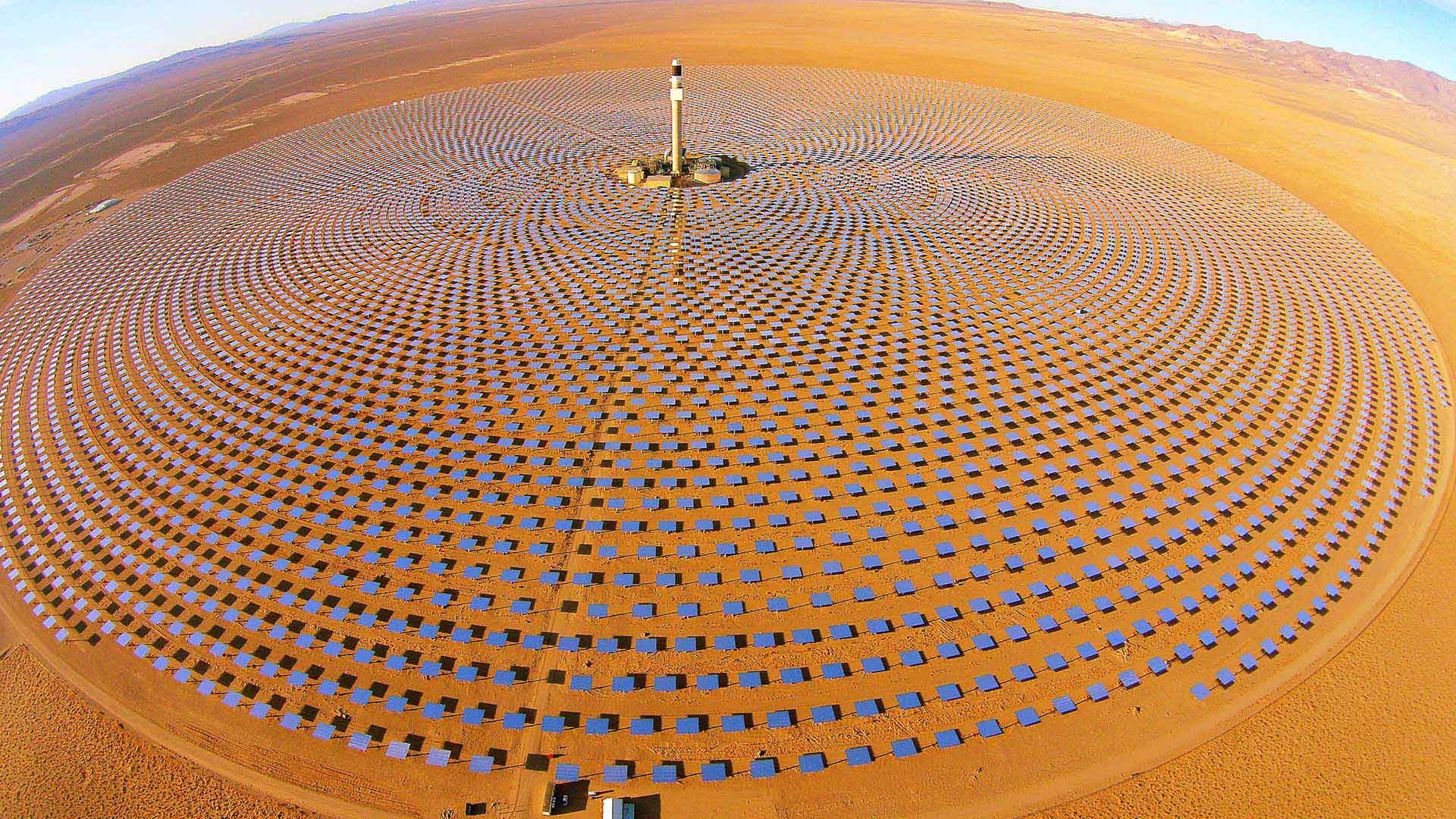 Thermal solar plant Tonopah
