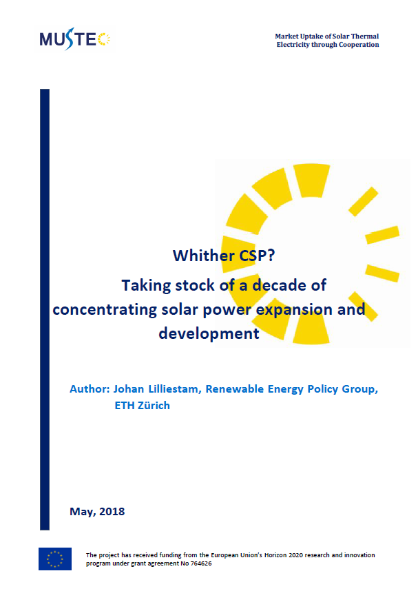 Whither CSP? Taking stock of a decade of concentrating solar power expansion and development