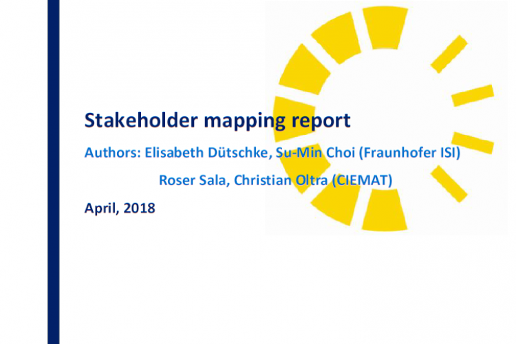 Stakeholder mapping report