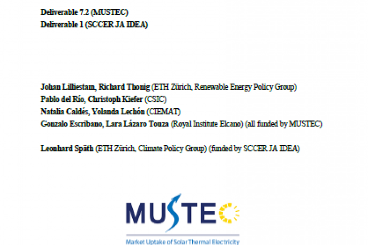 Report: Policy pathways for the energy transition in Europe and selected European countries