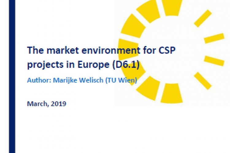 Report: The market environment for CSP projects in Europe
