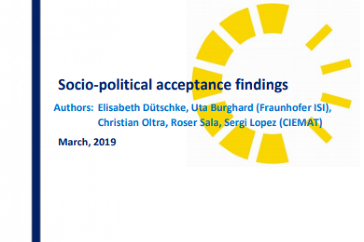 Report: Socio-political acceptance findings