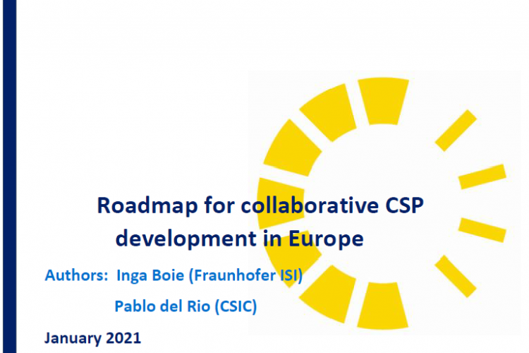 ROADMAP FOR COLLABORATIVE CSP DEVELOPMENT IN EUROPE